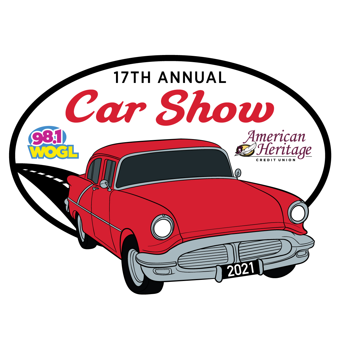 Image of Car with car show information